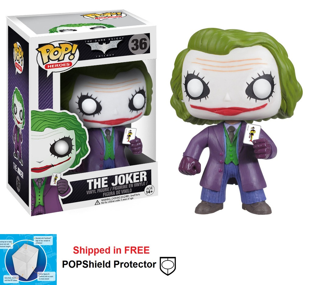Funko POP DC Comics Dark Knight Joker Figure - #36