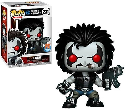 Funko POP DC Comics Lobo PX Exclusive Figure - #231