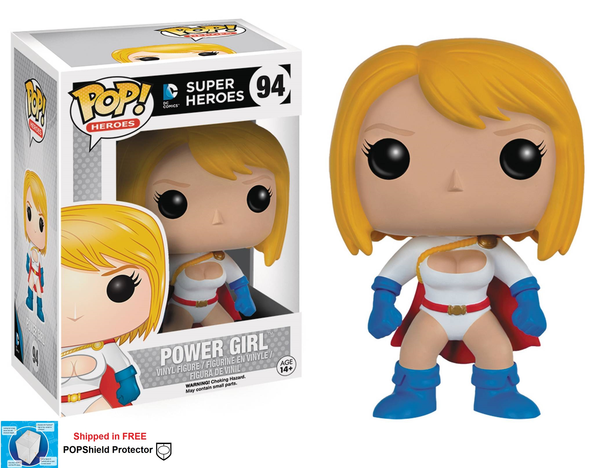 Funko POP DC Comics Power Girl Figure - #94