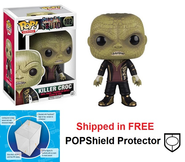 Funko POP DC Comics Suicide Squad Killer Croc Figure - #102
