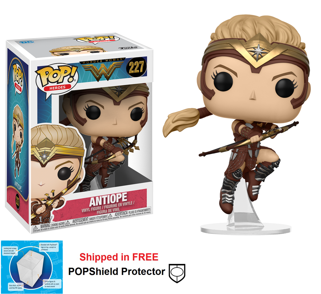 Funko POP DC Comics Wonder Woman Movie Antiope Figure - #227