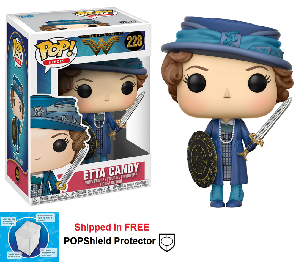 Funko POP DC Comics Wonder Woman Movie Etta Candy Figure - #228