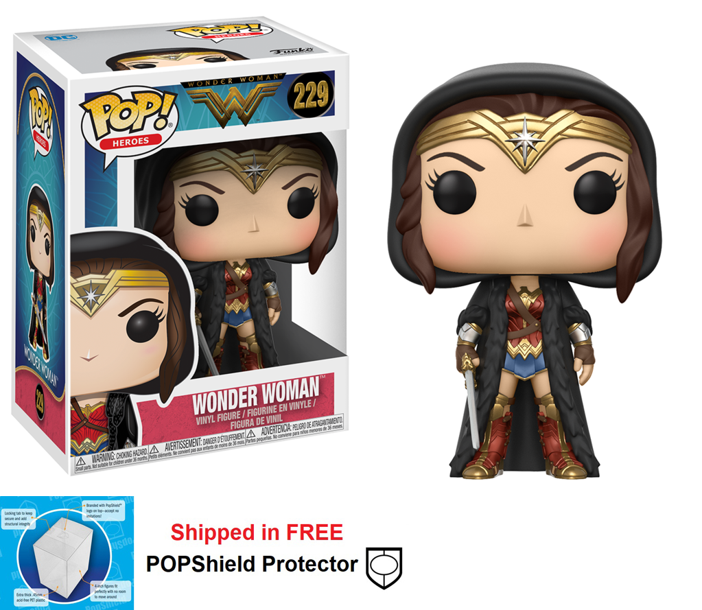 Funko POP DC Comics Wonder Woman Movie Figure - #229