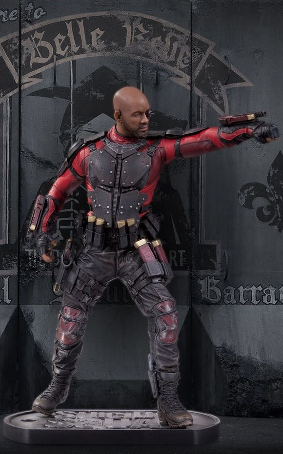 DC Comics Suicide Squad Movie Deadshot Statue