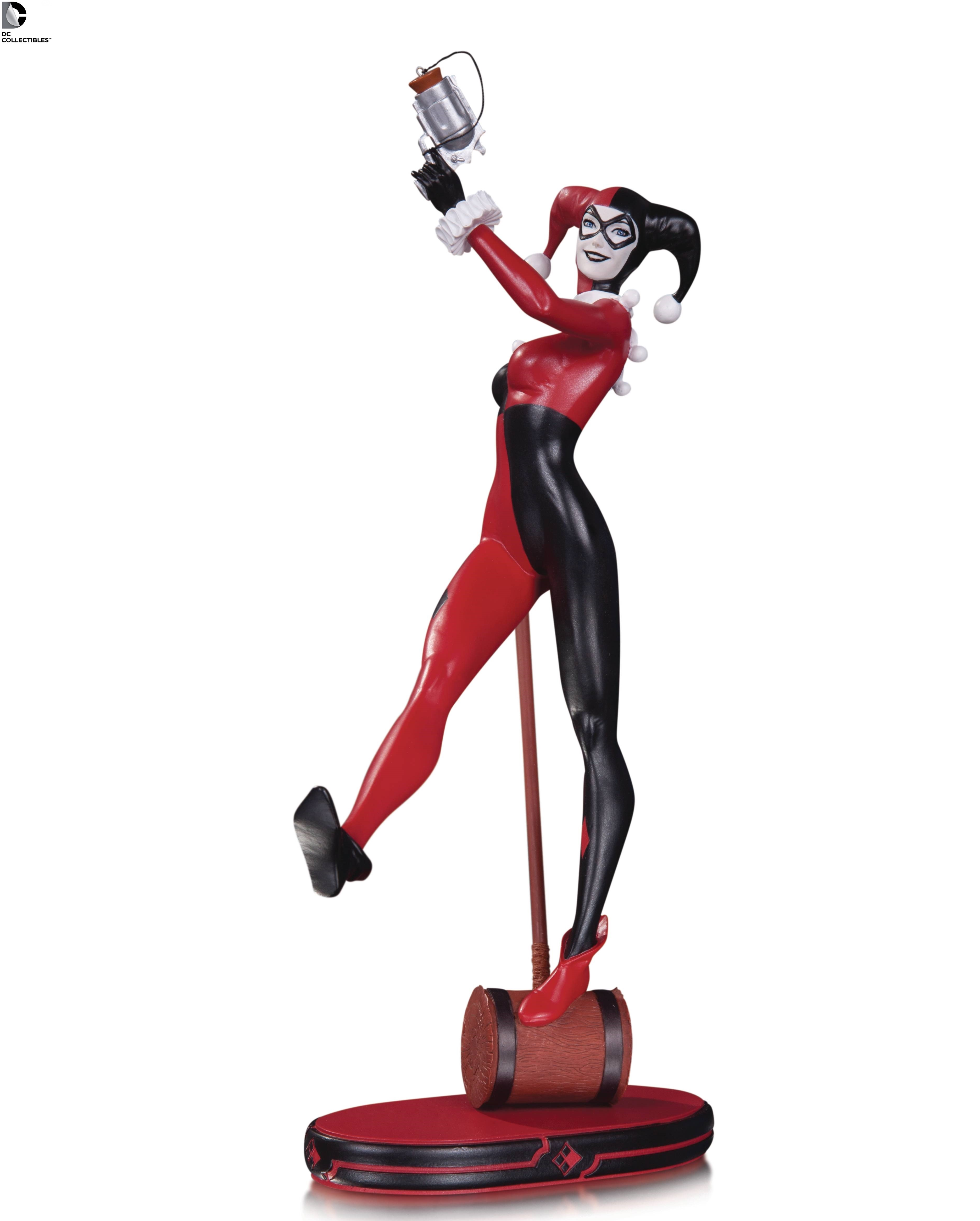 DC Comics Cover Girls Harley Quinn V2 Statue