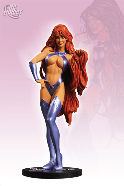 DC Comics Cover Girls Starfire Statue