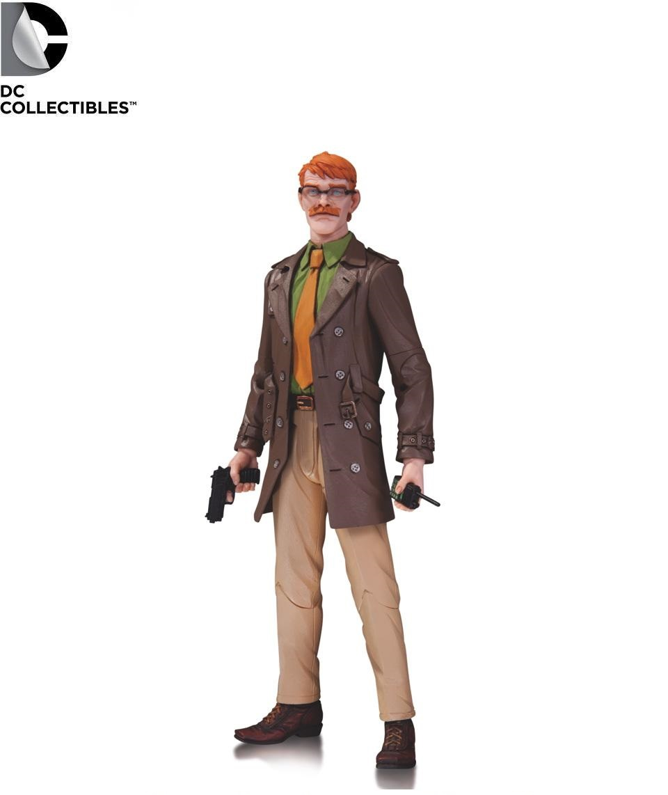DC Comics Designer Series Capullo Comissioner Gordon Figure