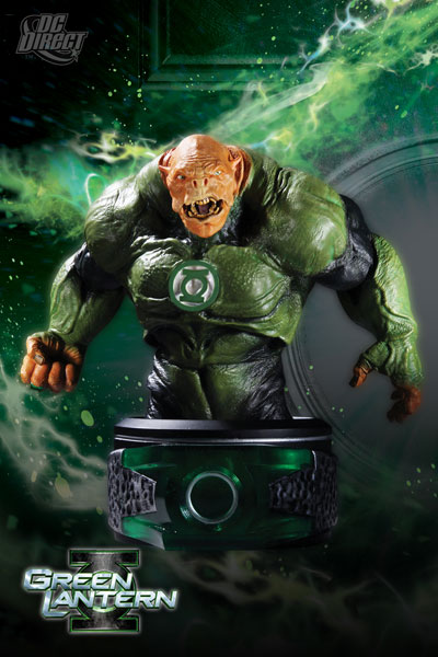 DC Comics Green Lantern Kilowog Movie Mini-Bust