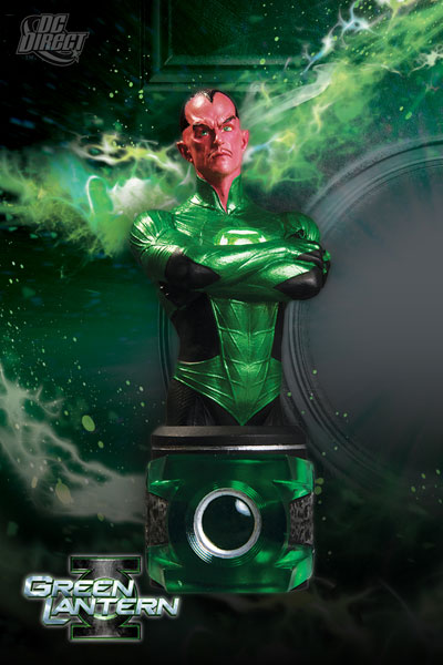 DC Comics Sinestro Green Lantern Movie Mini-Bust