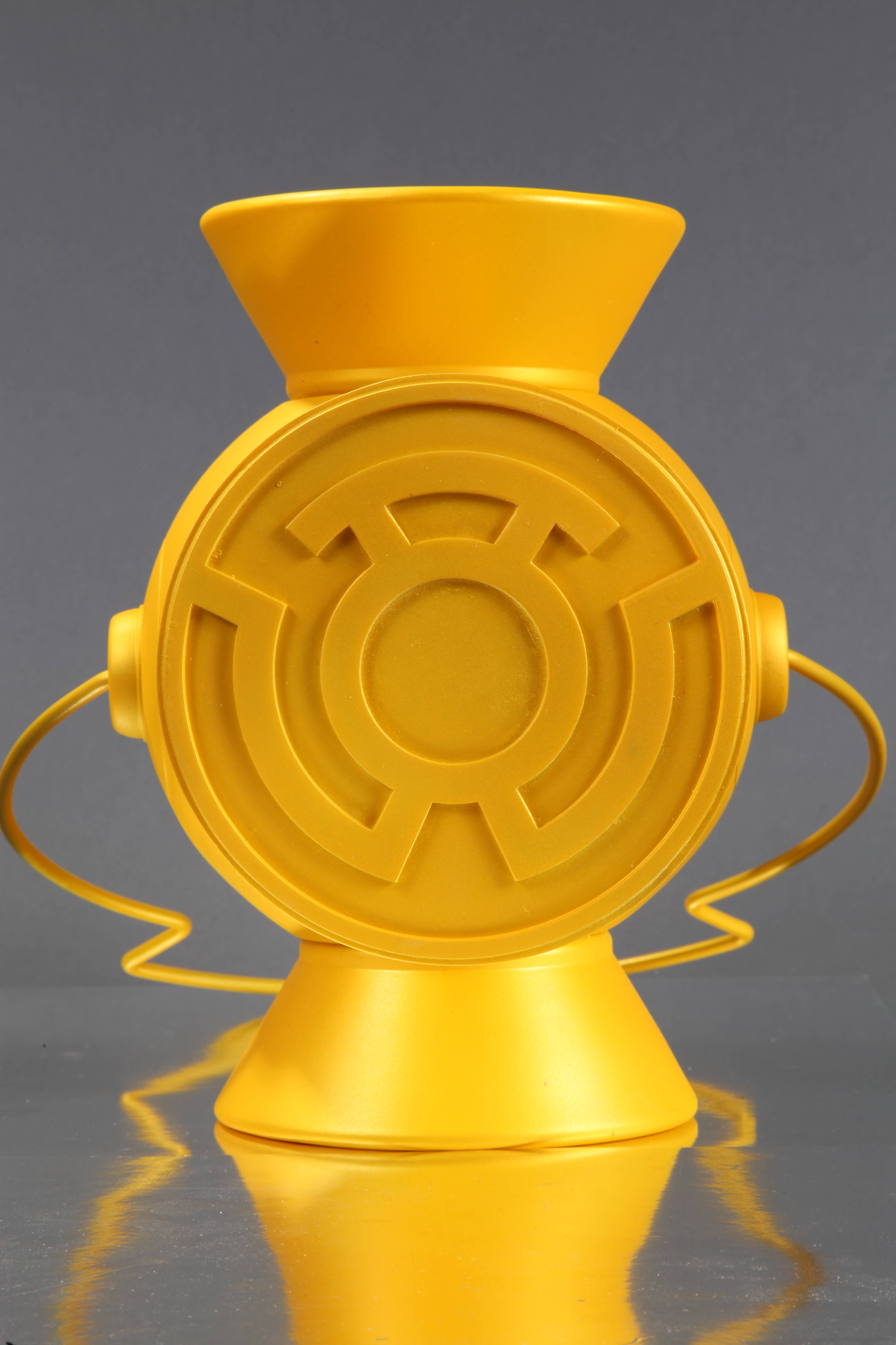 DC Comics Power Battery & Ring Replica Yellow Lantern