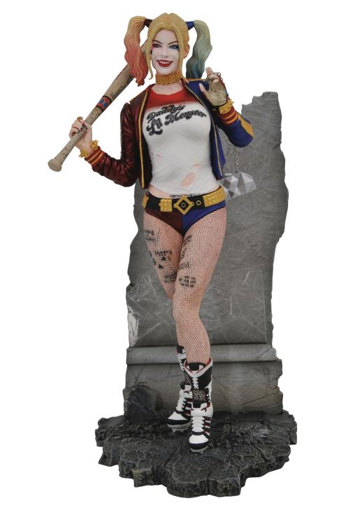 Pre-Order Diamond DC Comics Gallery Harley Quinn Suicide Squad
