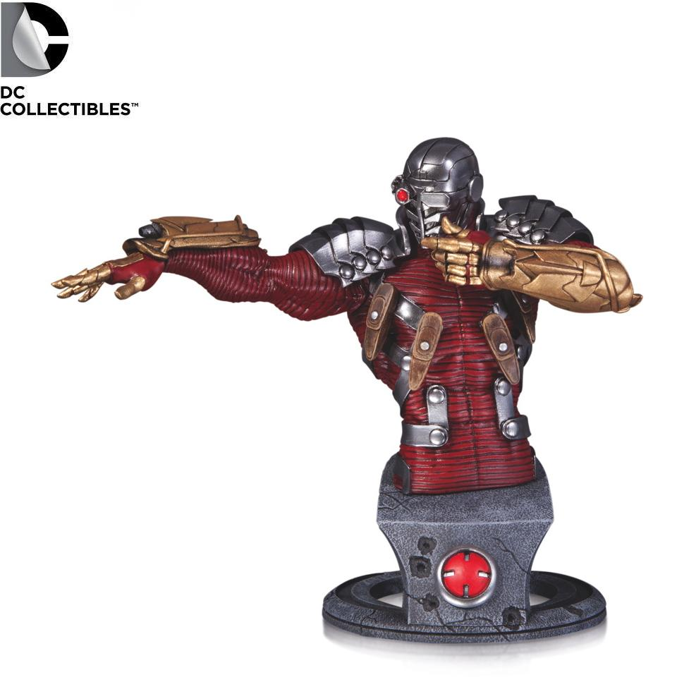 DC Comics Deadshot Super Villains Bust