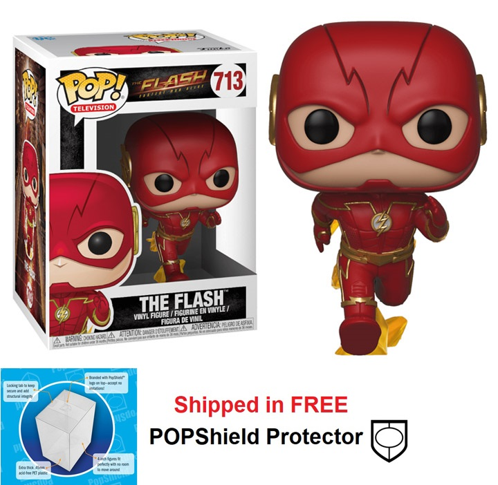 Funko POP DC Comics Flash TV Series The Flash Figure - #713