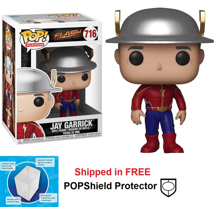 Funko POP DC Comics Flash TV Series Jay Garrick Figure - #716
