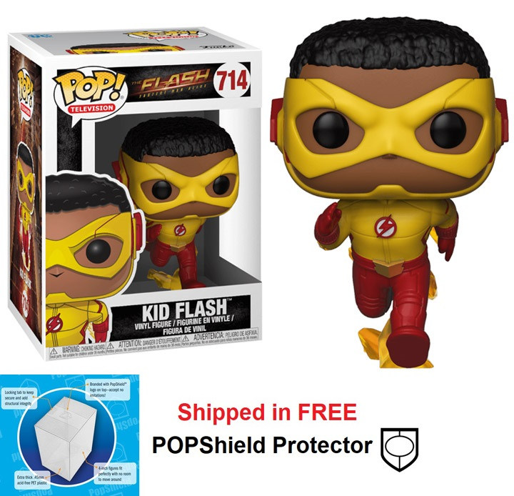 Funko POP DC Comics Flash TV Series Kid Flash Figure - #714