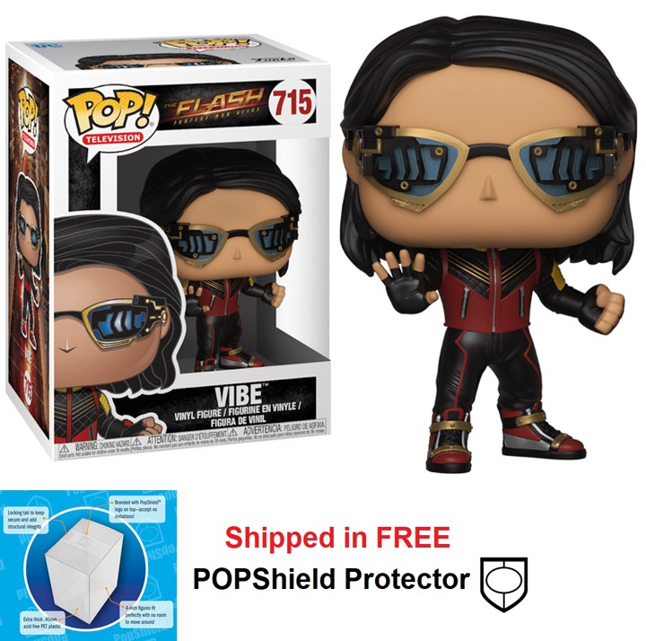 Funko POP DC Comics Flash TV Series Vibe Figure - #715
