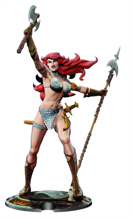 Dynamite Red Sonja 45th Anniversary Statue