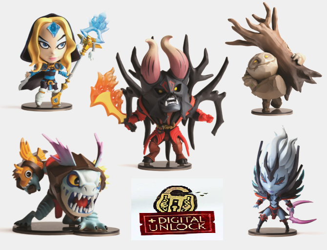 Mighty Fine DOTA 2 Demihero Vinyl Figure
