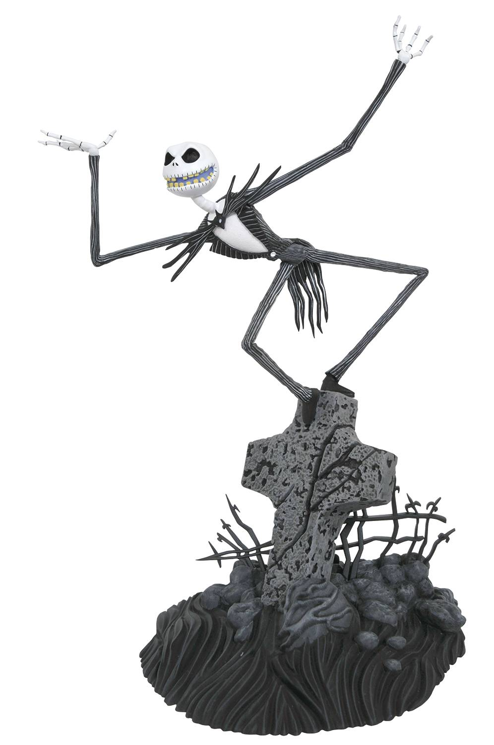 Diamond Nightmare Before Christmas Gallery Jack Statue