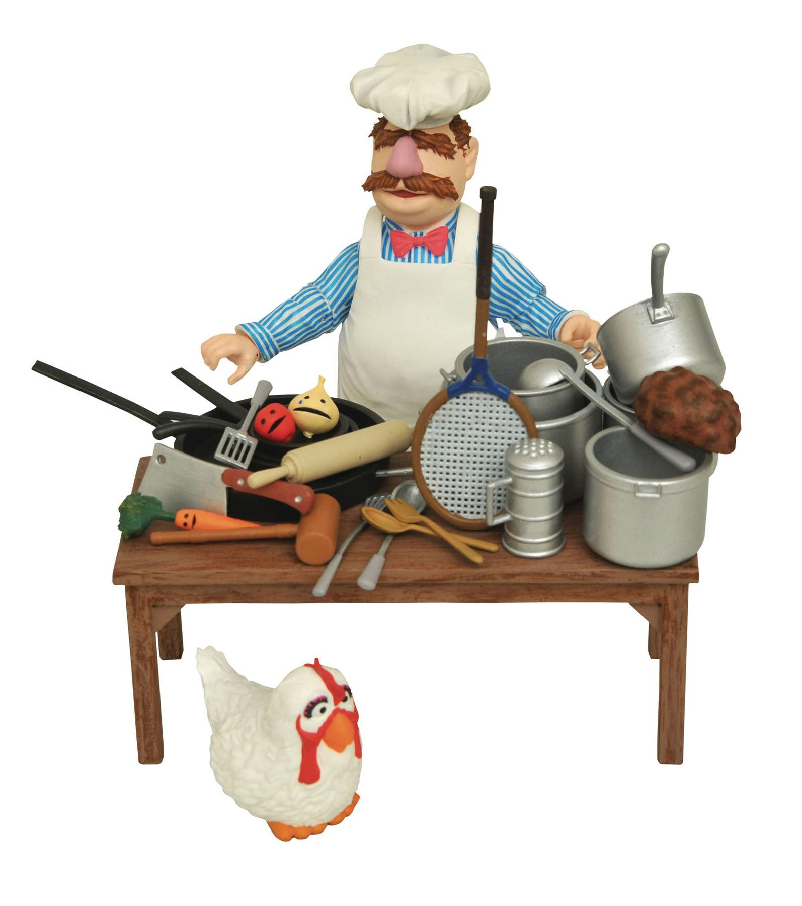 Diamond Muppets Swedish Chef Deluxe Figure Set