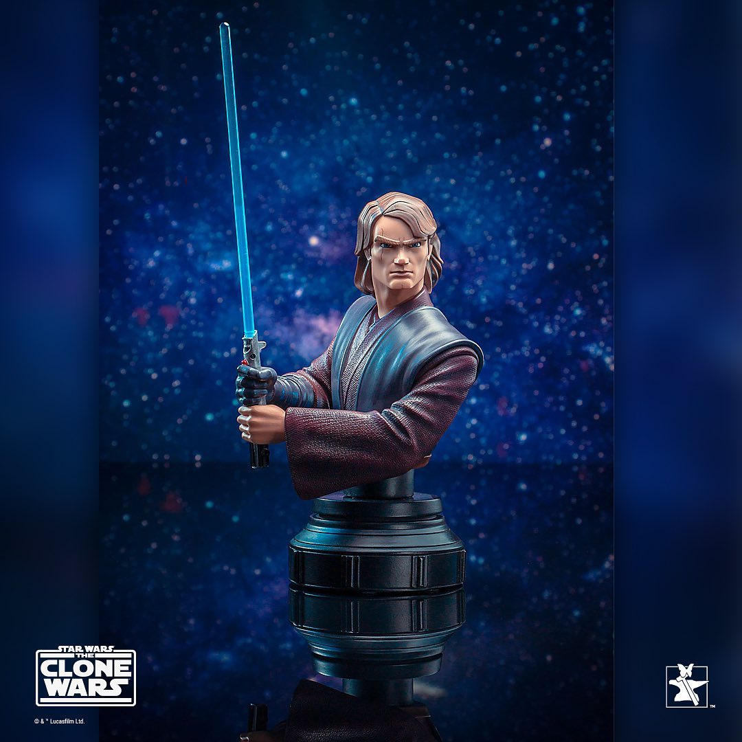 Gentle Giant Star Wars Anakin Skywalker Bust