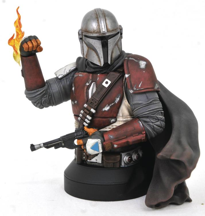 Pre-Order Diamond Star Wars Mandalorian Mark I Bust