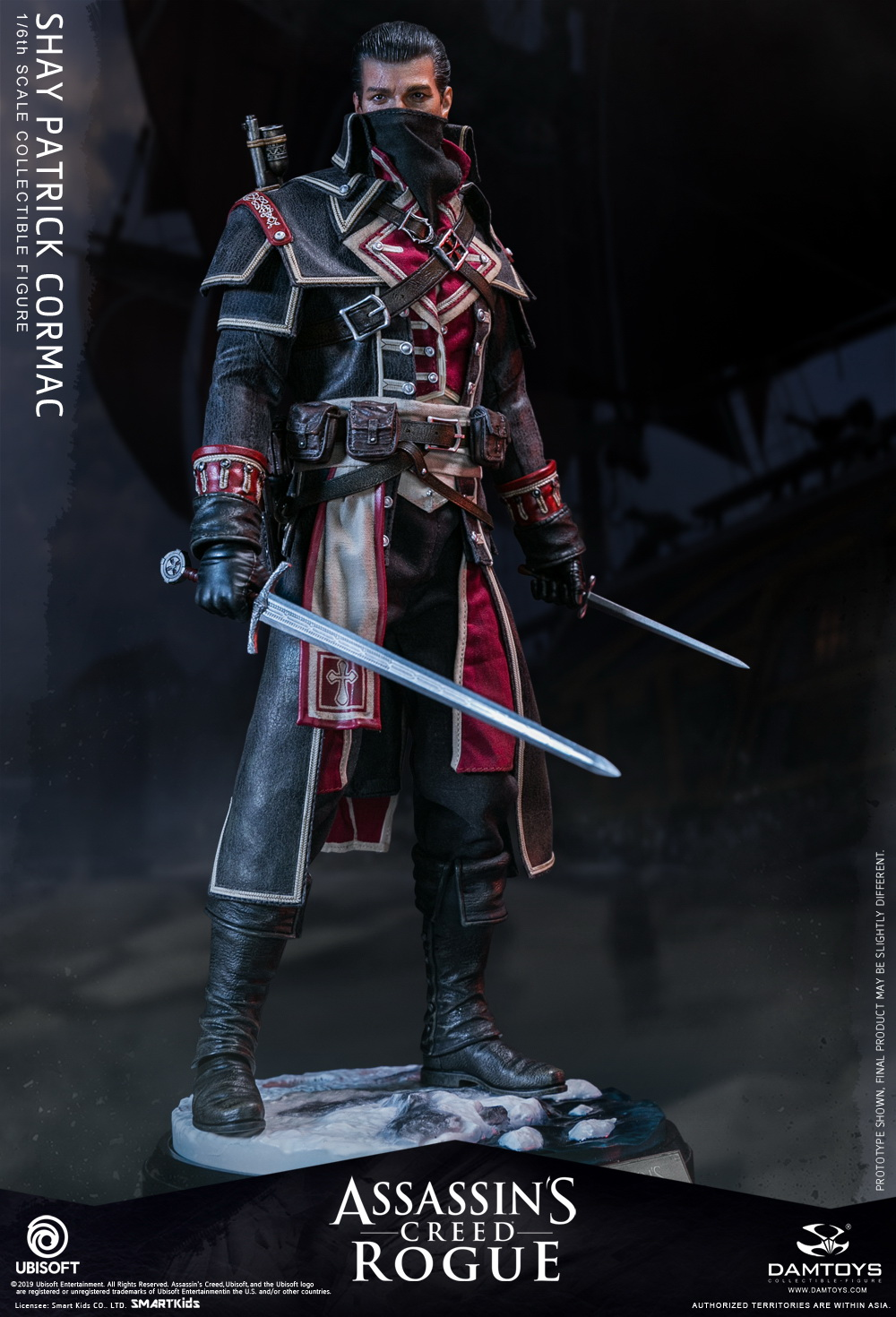 Pre Order Dam Toys Assassins Creed Shay Patrick Cormac Figure Pre