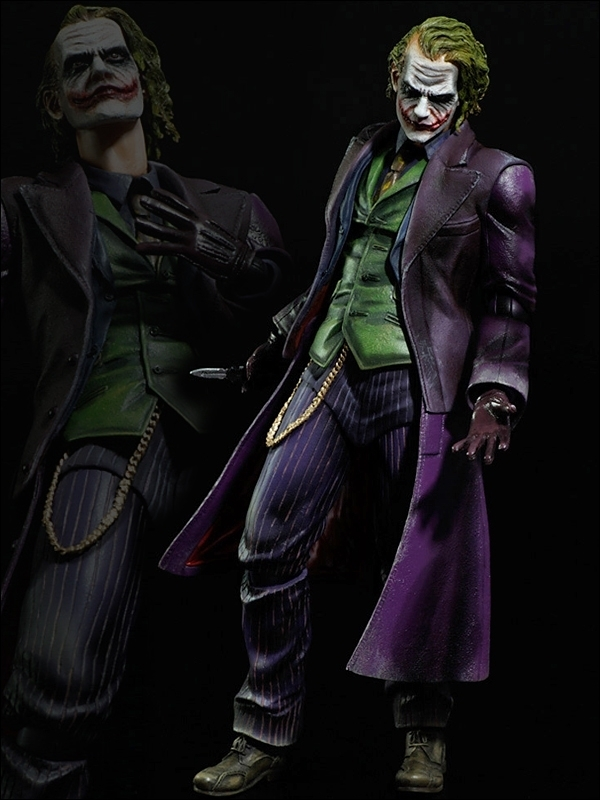 Square Enix Dark Knight Trilogy Play Arts Joker Figure