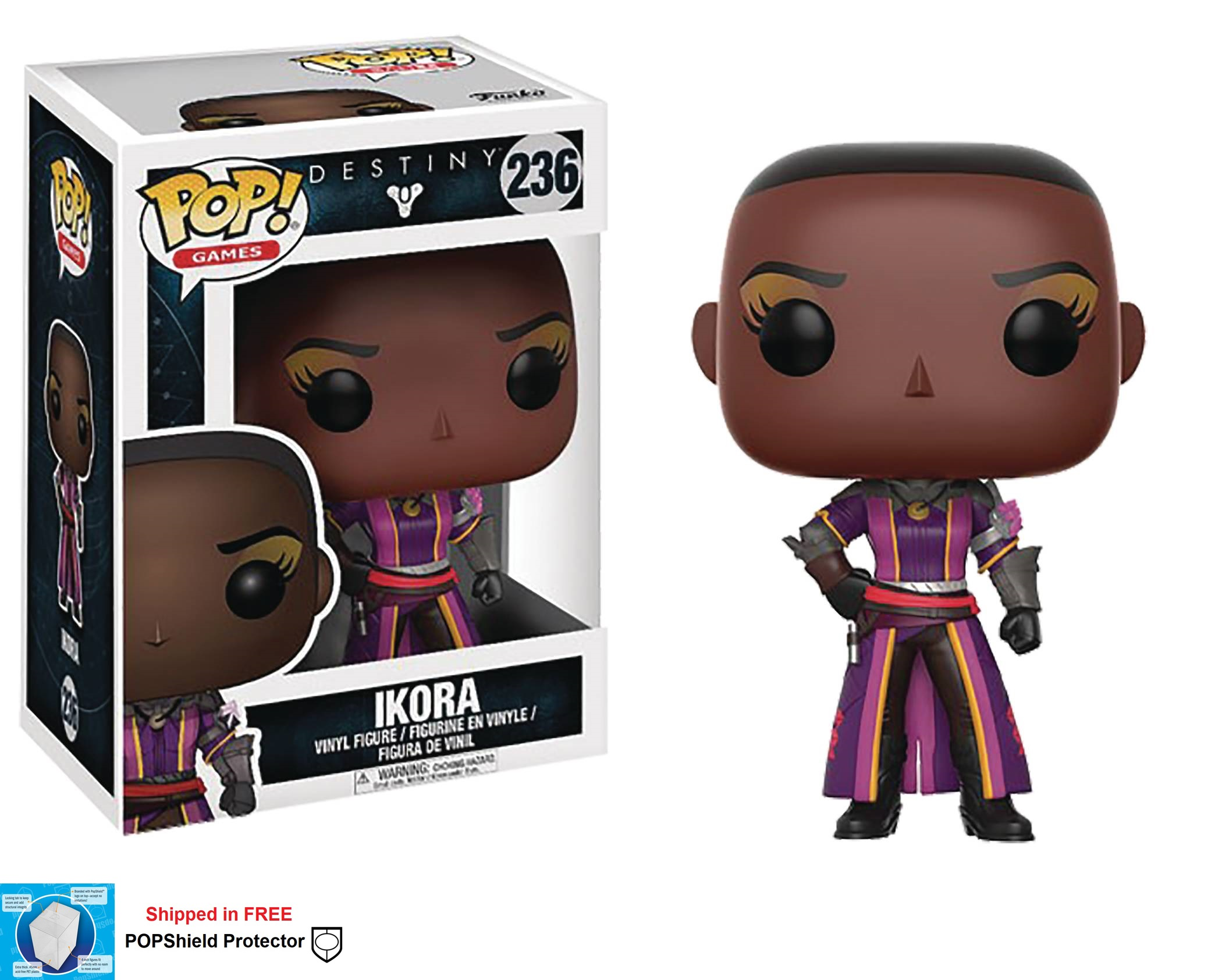 Funko POP Games Destiny Ikora Figure - #236
