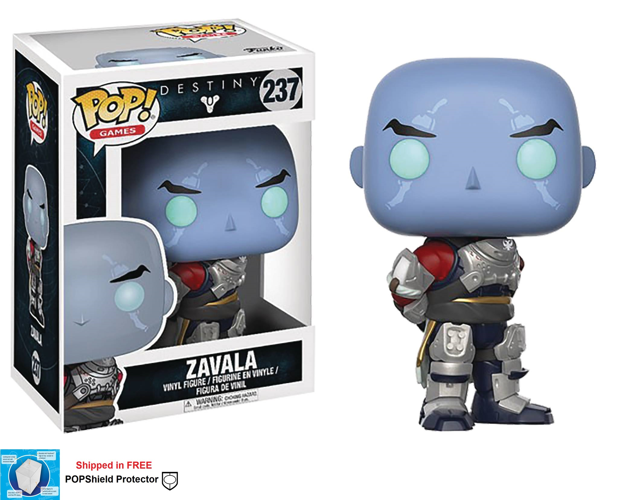 Funko POP Games Destiny Zavala Figure - #237