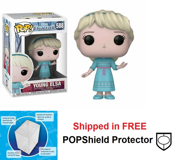 Funko POP Disney Frozen 2 Young Elsa Figure - #588