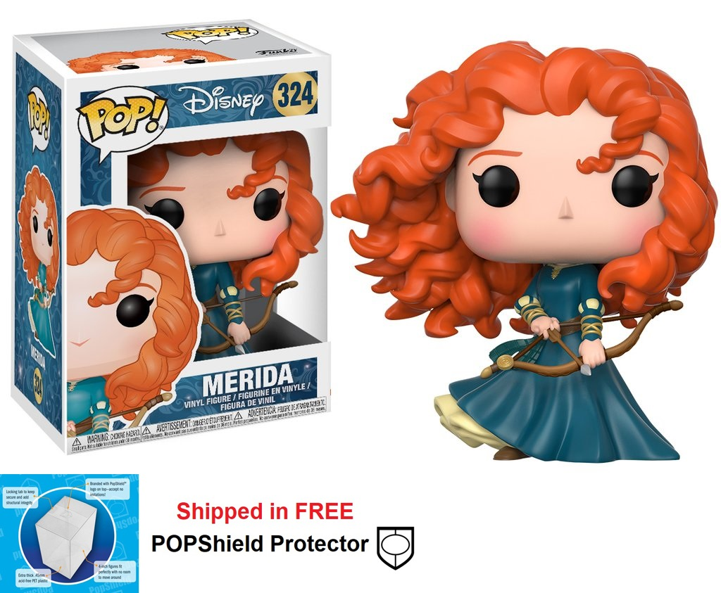 Funko POP Disney Merida Figure - #325