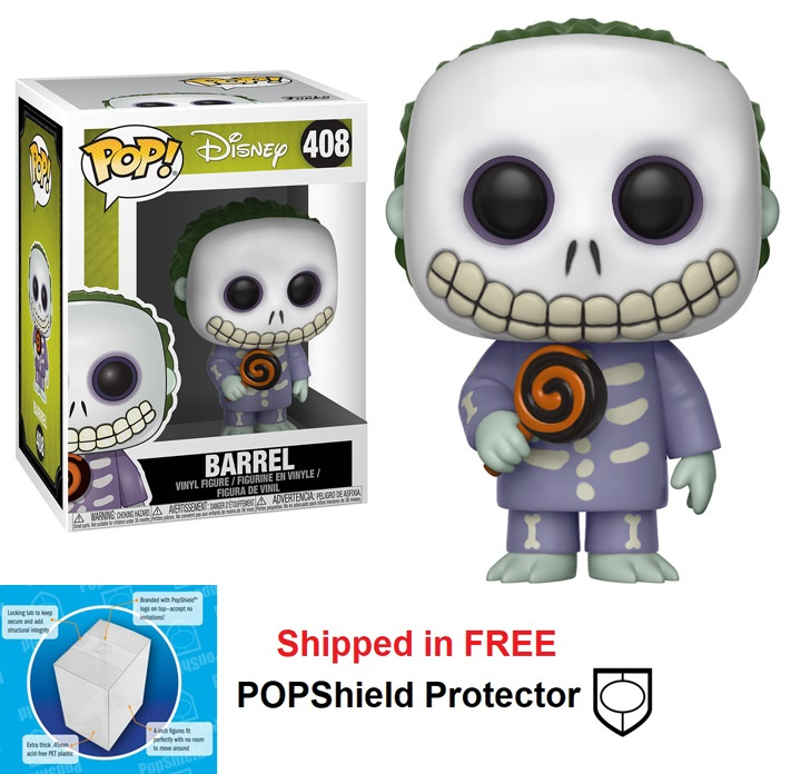 Funko POP Disney Nightmare Before Christmas Barrel - #408