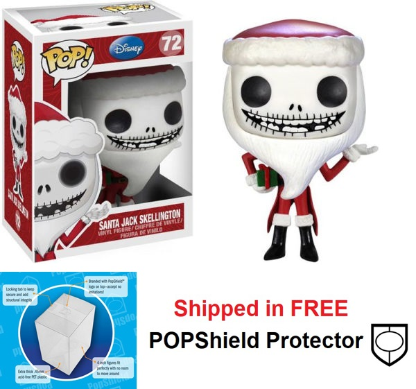 Funko POP Disney Nightmare Before Christmas Santa Jack - #72