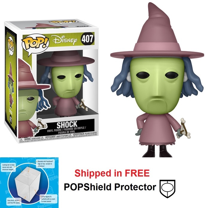 Funko POP Disney Nightmare Before Christmas Shock - #407