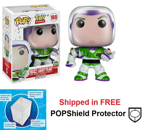 Funko POP Disney Toy Story Buzz Lightyear Figure - #169