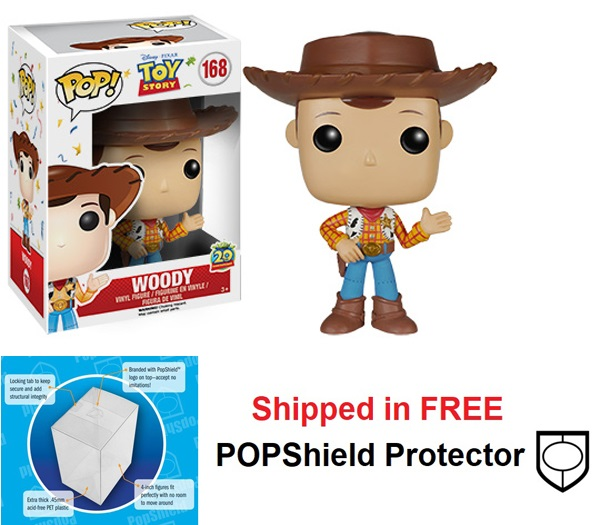Funko POP Disney Toy Story Woody Figure - #168