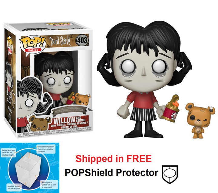 Funko POP Games Don't Starve Willow w/Bernie - #403