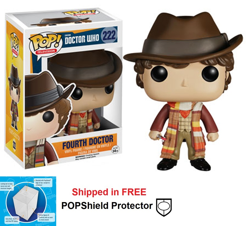 Funko POP Dr. Who Fourth Doctor Figure - #221