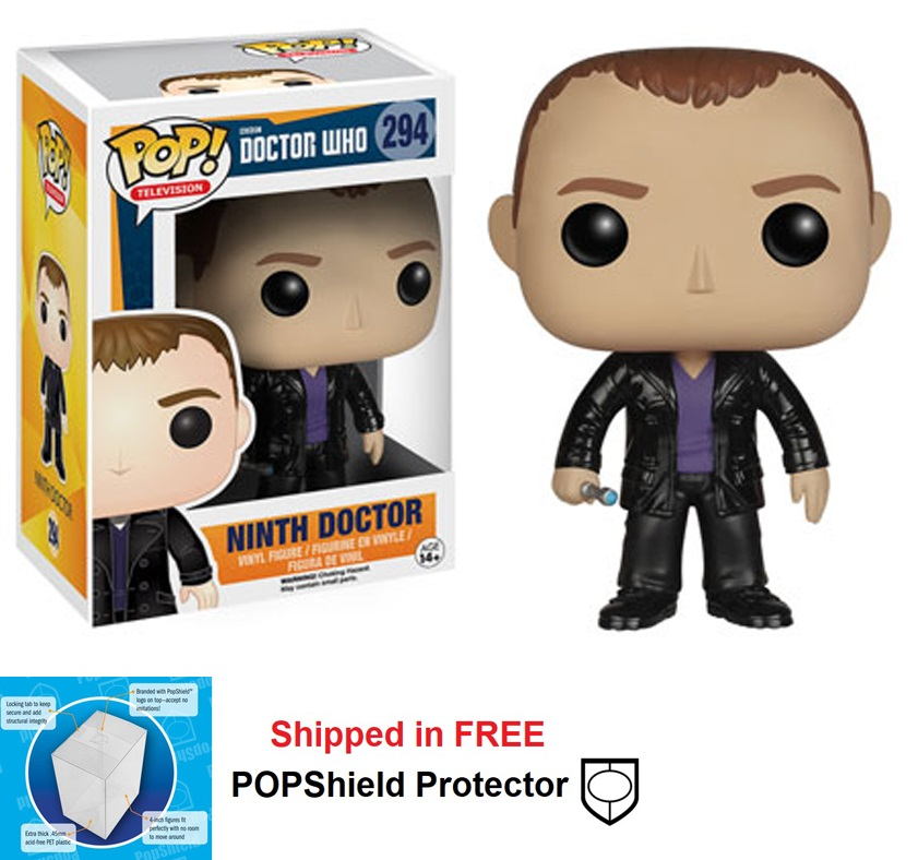 Funko POP Dr. Who Ninth Doctor Figure - #294