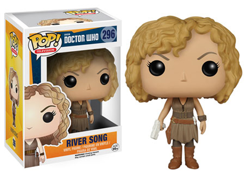 Funko POP Dr. Who River Song Figure - #221
