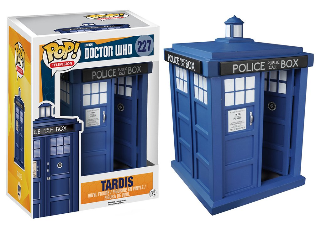 Funko POP Doctor Who Tardis Figure - #227