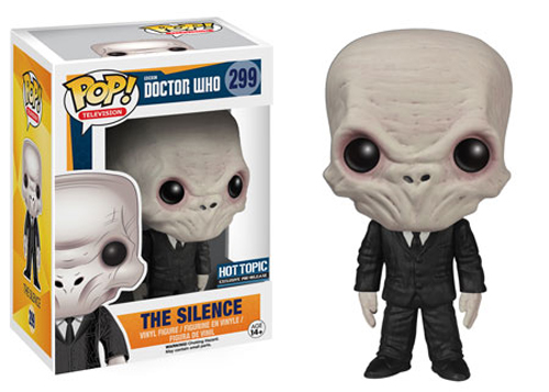 Funko POP Dr. Who The Silence Figure - #299