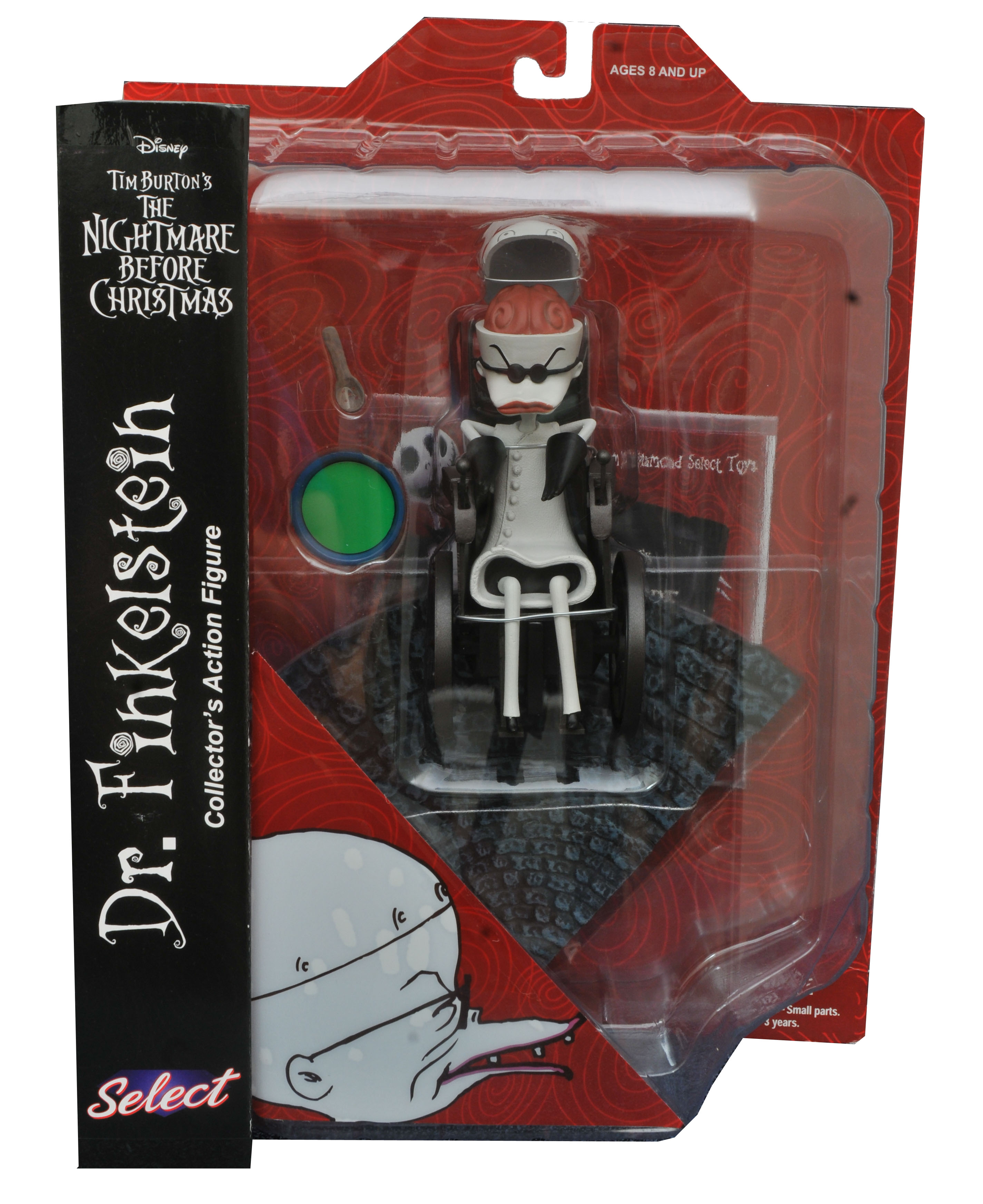 Diamond Nightmare Before Christmas Dr. Finkelstein Figure