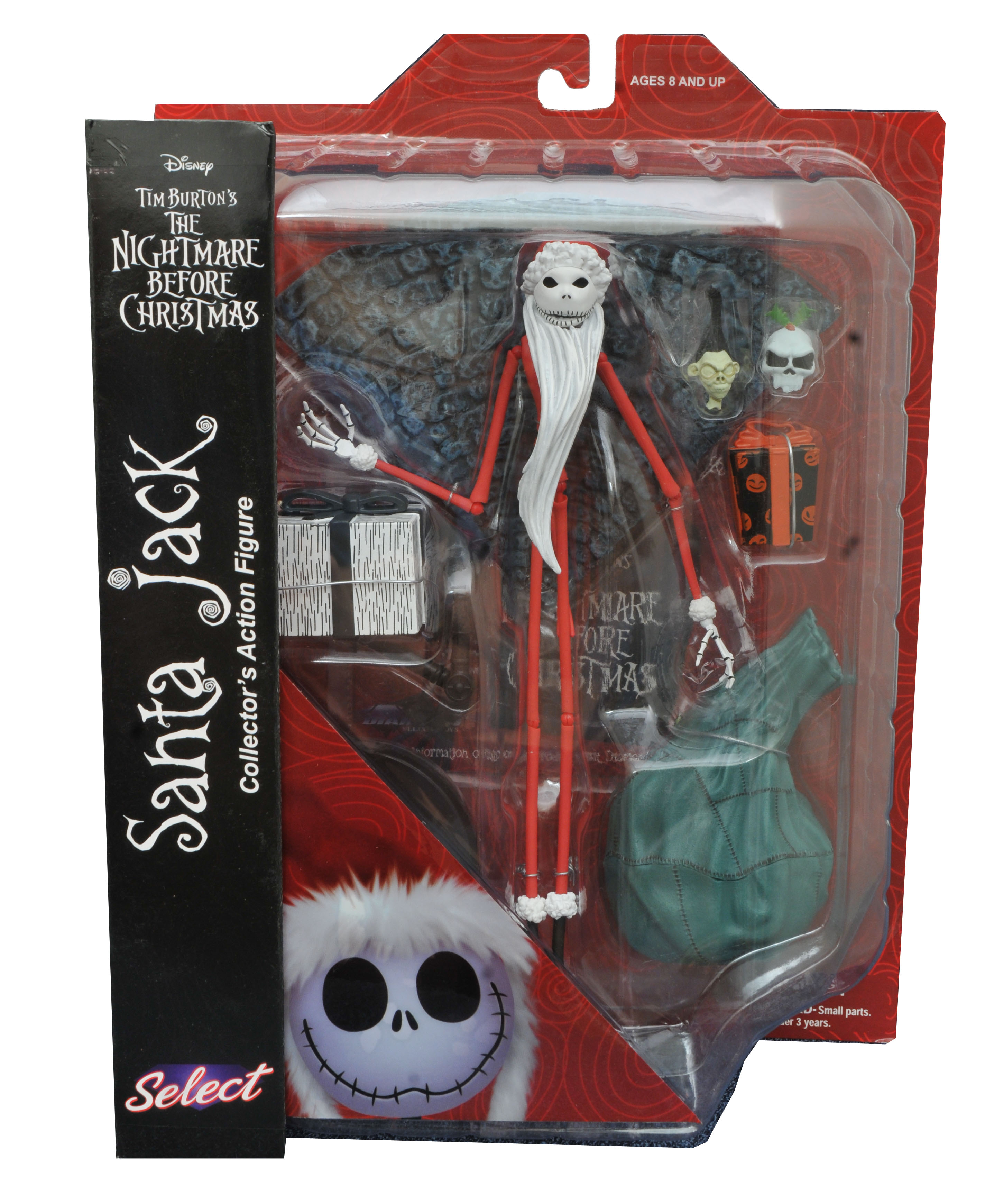 Diamond Nightmare Before Christmas Santa Jack Figure