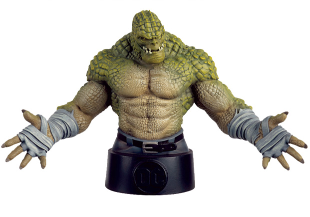 Eaglemoss DC Comics Batman Universe Killer Croc Bust