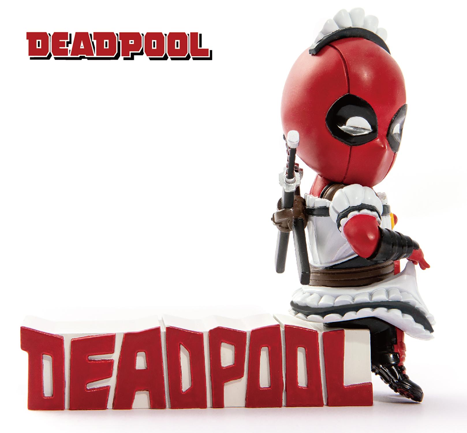 Beast Kingdom Egg Attack Deadpool Servant Figure