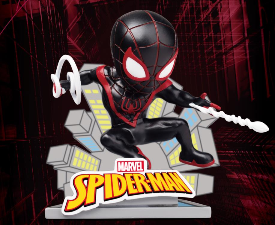 Beast Kingdom Spider-Man Miles Morales Egg Attack Mini-Figure