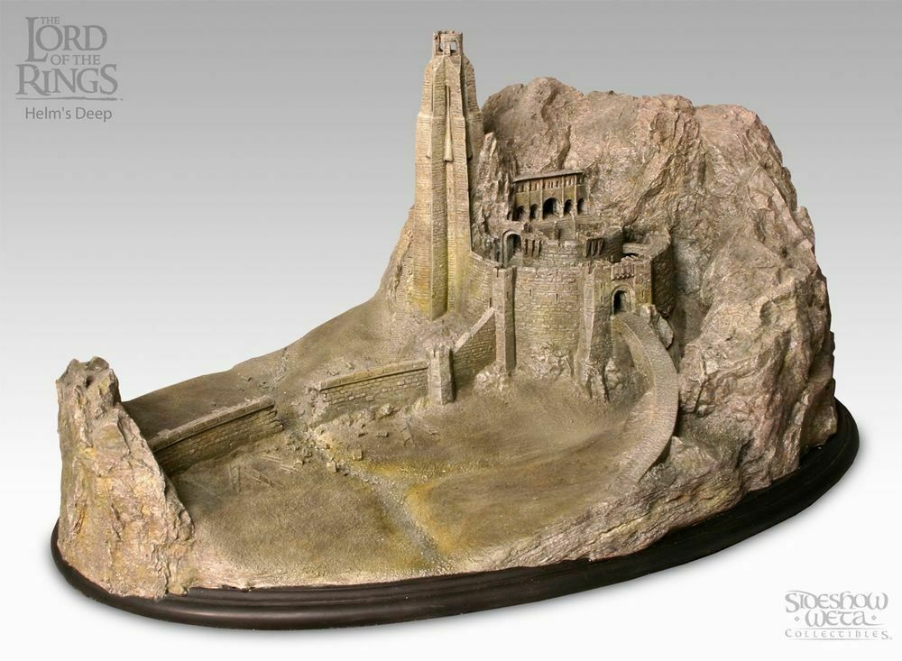 Weta Lord of the Rings Helm's Deep Environment