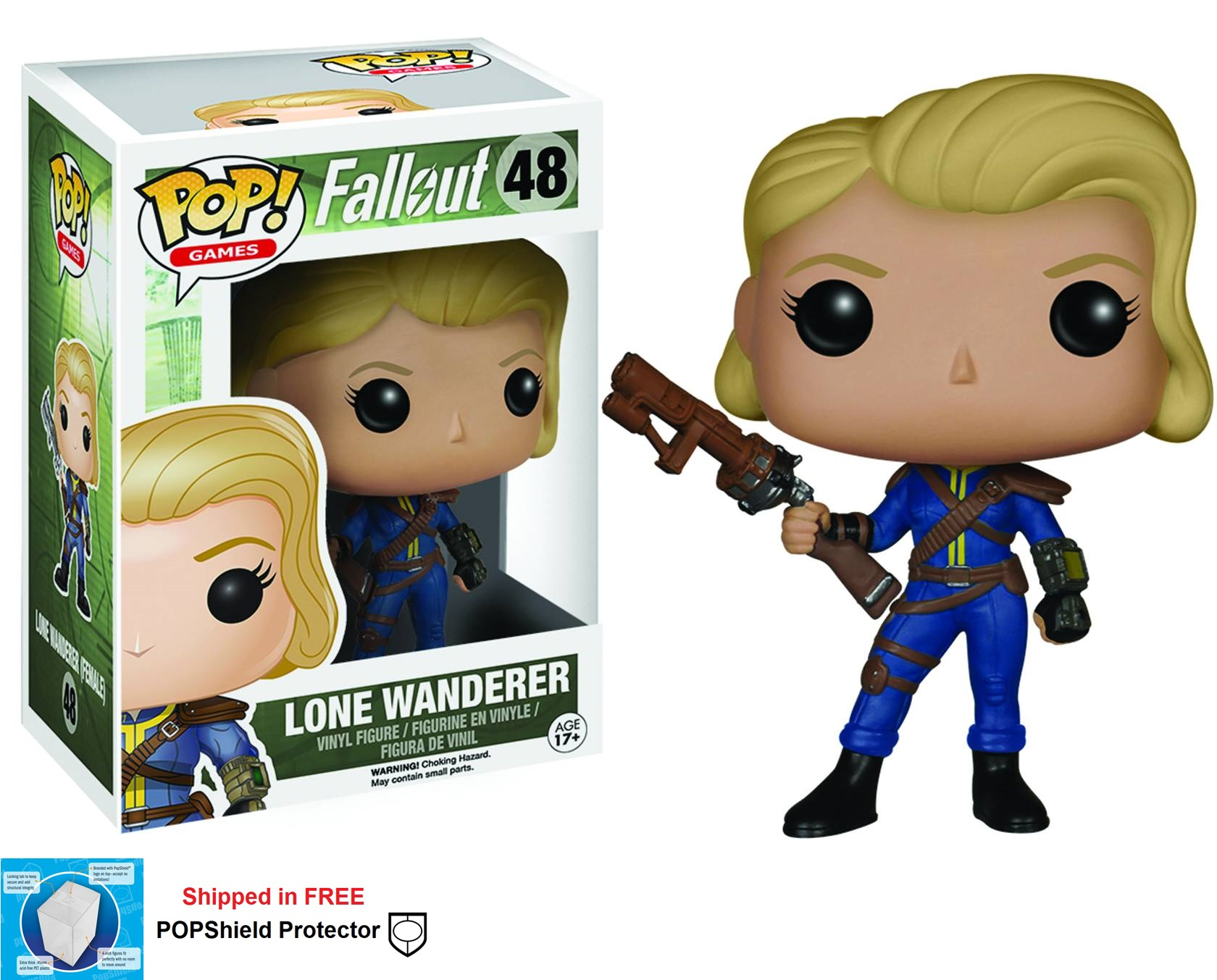Funko POP Games Fallout Lone Wanderer Female Figure - #48